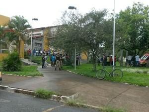 Homicídio Patrocínio (Foto: Milton Cunha/Arquivo Pessoal)