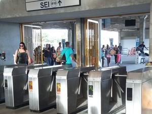 Estação Central do Metrô do Recife (Foto: Larissa Pereira/TV Globo)
