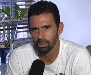 Jogador completa 200 jogos pelo Paulista no sábado (Foto: Reprodução/ TV TEM)