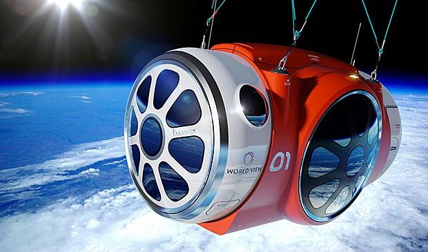 Equipamento erguido por balão de hélio pode começar a operar em 3 anos (Foto: World View Enterprises, Inc./Reuters)