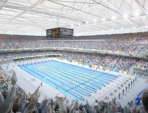 Projeto Parque Aquático Olimpíadas Rio 2016 (Foto: Divulgação)