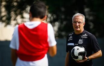 Santos prioriza bola parada em último treino antes de pegar Novorizontino