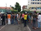 Protesto contra aumento da tarifa de ônibus volta a parar o Centro