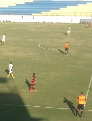 Guarani de Juazeiro x Horizonte Campeonato Cearense Romeirão (Foto: Fabiano Rodrigues/TV Verdes Mares)