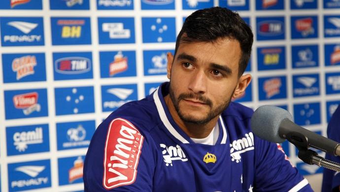 Henrique, atacante do Cruzeiro (Foto: Washington Alves/Light Alves)