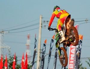 Chumbinho piloto MX3 etapa brasileiro motocross três lagoas (Foto: Divulgação/CBM)