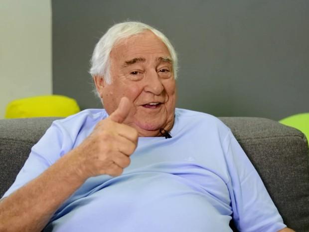 Luiz Gustavo relembra o seriado Mrio Fofoca (Foto: Acervo Globo)