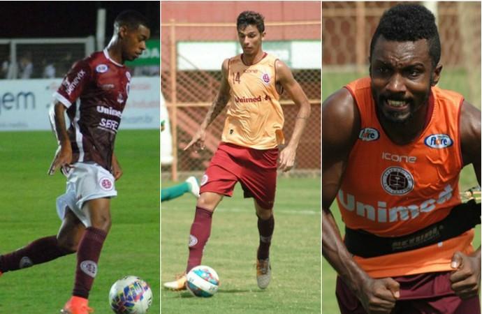 Paulo Vitor e Dilsinho têm contratos renovados com a Tiva; Acerola deve fechar nos próximos dias (Foto: Henrique Montovanelli/Desportiva Ferroviária)