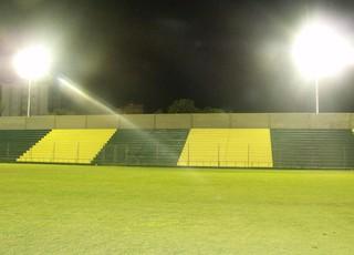 Iluminação estádio Vieirão Cerâmica Gauchão (Foto: Divulgação, Cerâmica)