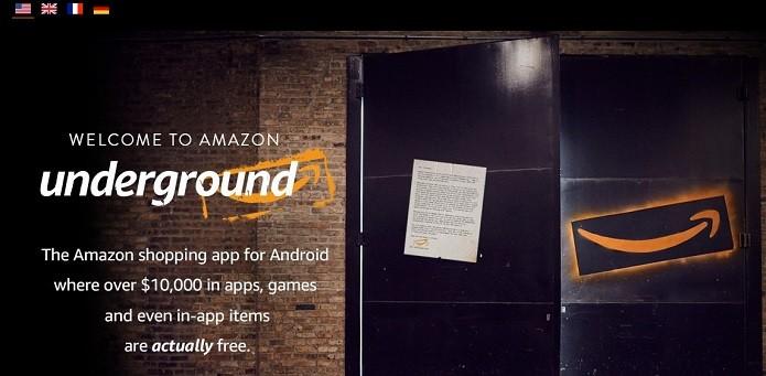 Amazon Underground por enquanto ainda não está disponível no Brasil (Foto: Reprodução/Gabriel Ribeiro)