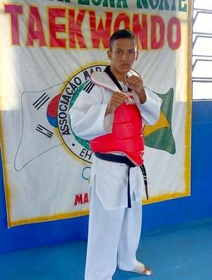Willis objetiva chegar à Seleção Brasileira de Taekwondo (Foto: Arquivo pessoal)