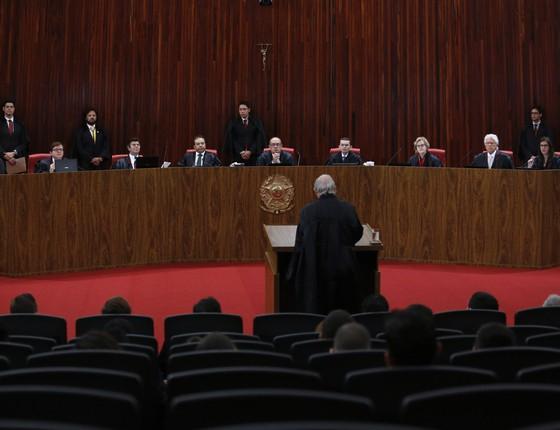 Julgamento da chapa Dilma-Temer no TSE (Foto: Aílton de Freitas/Agência O Globo)