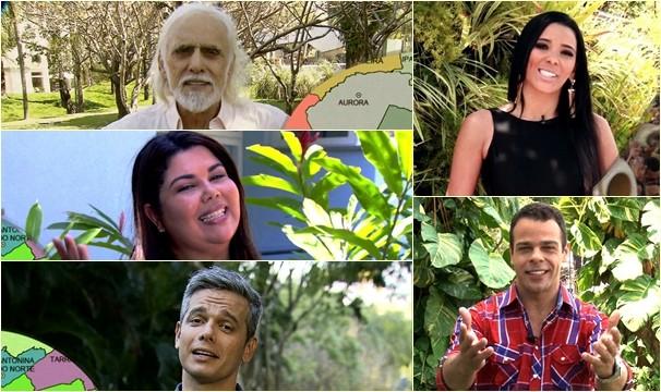Artistas e apresentadores gravam campanha da TV Verdes Mares Cariri (Foto: Divulgação)