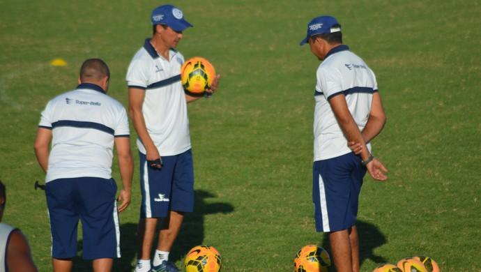 Betinho confirma time misto contra Boquinhense (Foto: Felipe Martins)