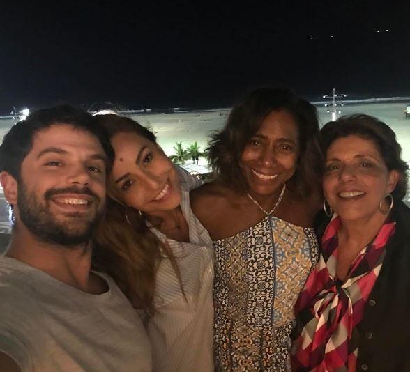 Duda Nagle, Sabrina Sato, Glória Maria (Foto: Instagram / Reprodução)