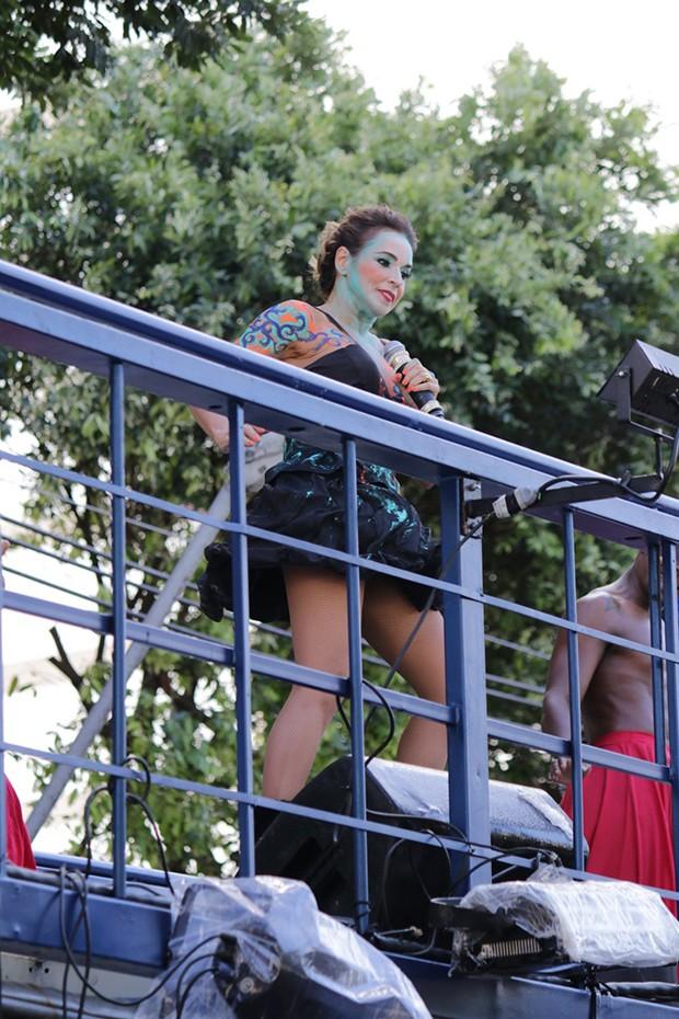 Daniela Mercury (Foto: Fabio Moreno/ Agnews)