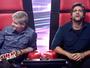 Prévia: nova voz do 'The Voice Kids' deixa cantor da dupla Victor & Leo de boca aberta