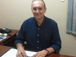 Fábio Henrique, prefeito de Nossa Senhora do Socorro em Sergipe (Foto: Marina Fontenele/G1)