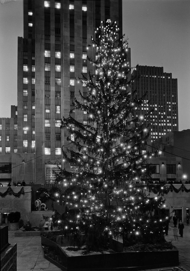 árvore-Natal-Rockefeller-Plaza-1934 (Foto: Reprodução)