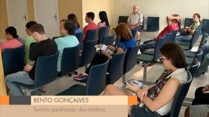 Médicos encerram paralisação em Bento Gonçalves, RS