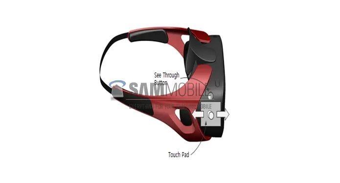 Imagem do Gear VR da Samsung que foi divulgada (Foto: Divulgação/SamMobile)