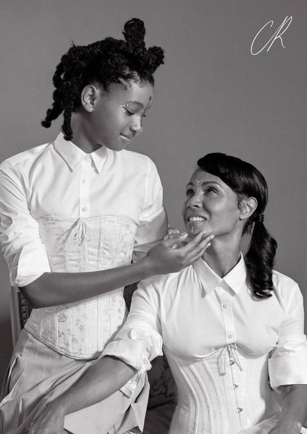 Willow Smith e Jada Pinkett-Smith  (Foto: Reprodução)