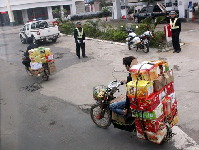 Motos na China