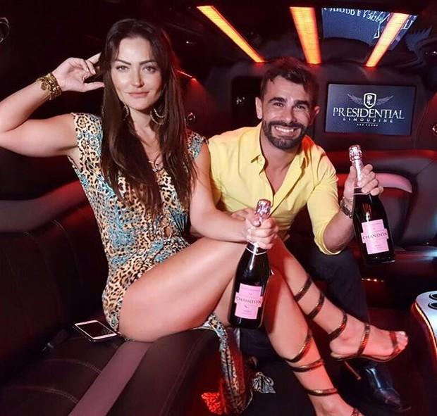 Laura Keller e Jorge Sousa (Foto: Reprodução / Instagram)