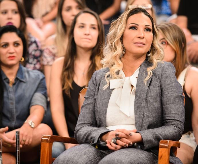 Valesca Popozuda participa da gravação do programa Altas Horas (Foto: Globo/Ramón Vasconcelos)