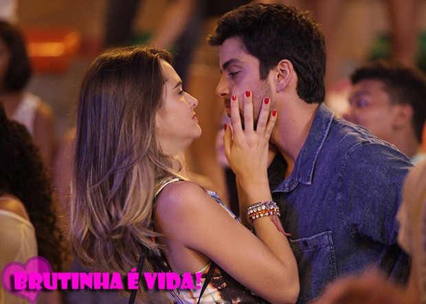 BruTinha é vida! <3 (Foto: Malhação / TV Globo)
