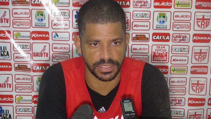 Júlio César, goleiro do CRB (Foto: Denison Roma / GloboEsporte.com)