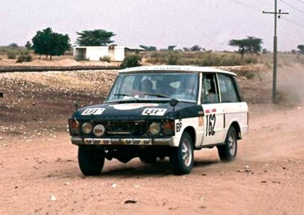 Range Rover, primeiro carro à vencer o Rally Dakar, em 1979. (Foto: Reprodução)