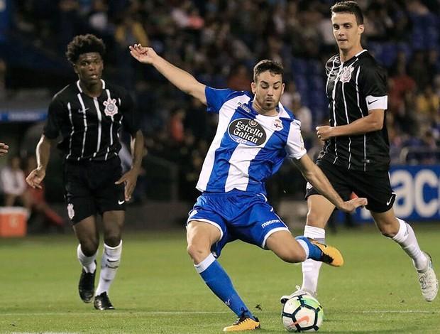Corinthians foi goleado pelo Deportivo La Coruña por 7 a 0