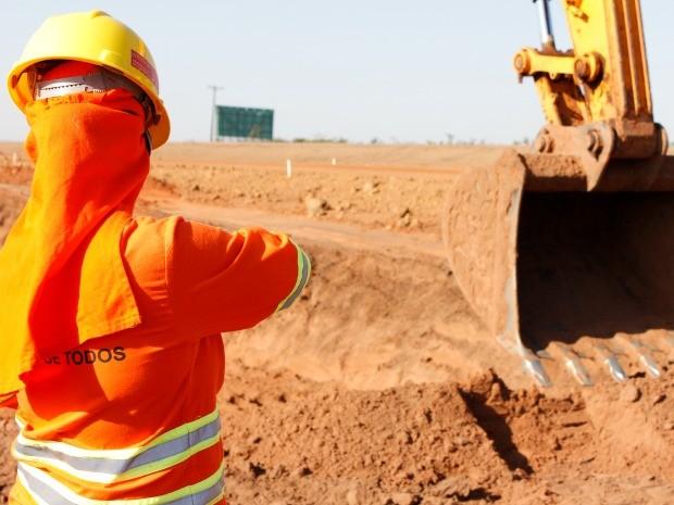 Obras na BR-163 em Mato Grosso começam no trecho de Rondonópolis (Foto: Divulgação/Rota do Oeste)