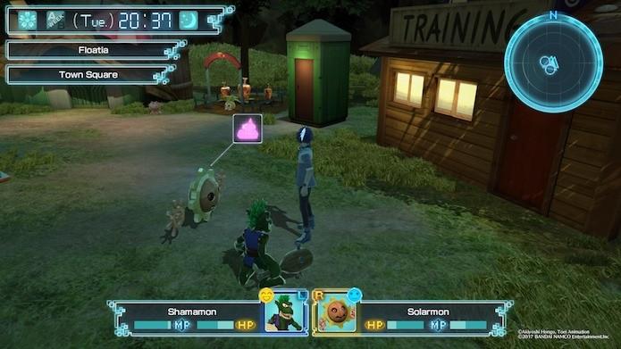 Digimon World: Next Order: é preciso cuidar e treinar os Digimons (Foto: Reprodução/Victor Teixeira)