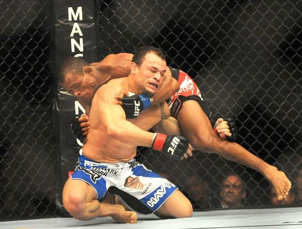 Gleison Tibau e Francisco Massaranduba, UFC RIO III (Foto: André Durão / Globoesporte.com)