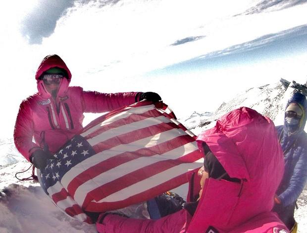 Paul Romero corrida de aventua expedição Antártica Rocky Man (Foto: Team Jordan)