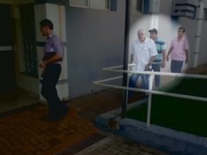 Cunhado de ex-tesoureira foi preso (Foto: Reprodução/TV TEM)