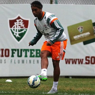 Ronaldinho treino Fluminense (Foto: Nelson Perez/ Fluminense FC)