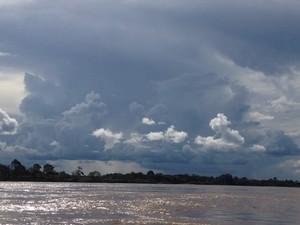 Após passagem de frente fria, calor volta a predominar em Rondônia (Foto: Suzi Rocha/G1)