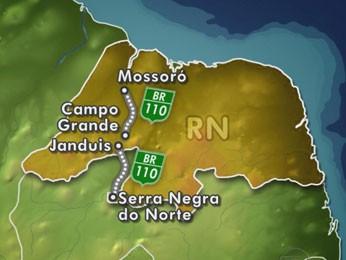 Relatório aponta trechos de rodovias que devem ser recuperados (Foto: Reprodução/TV Globo)
