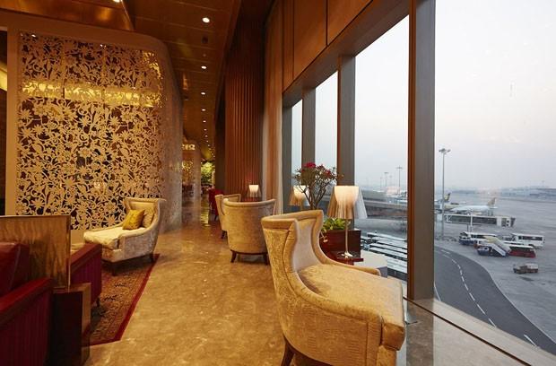 Lounge de aeroporto em Mumbai é eleito o melhor do mundo (Foto: Divulgação)