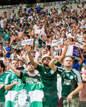 torcida Palmeiras x Corinthians Arena  (Foto: Agência Estado)