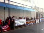 Grupo faz ato contra PEC e reformas trabalhistas no Centro de Piracicaba
