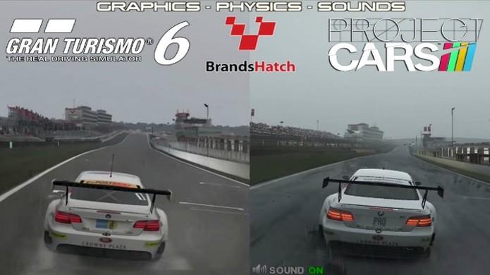 Comparação coloca os gráficos de Project Cars contra Gran Turismo 6 (Foto: CarGamingBlog) (Foto: Comparação coloca os gráficos de Project Cars contra Gran Turismo 6 (Foto: CarGamingBlog))