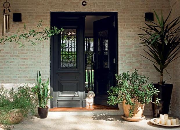 Entradas especiais casa e jardim ambientes - Entradas de casas rusticas ...