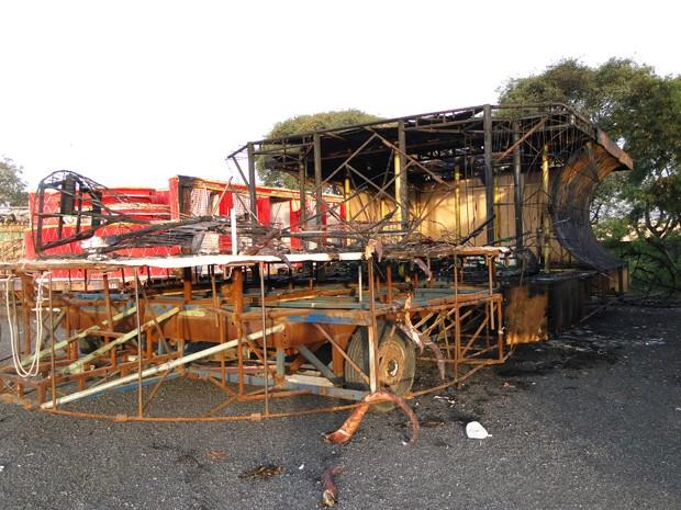 incendio perola 2  (Foto: Divulgação)