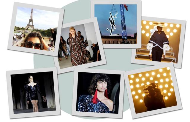 Primeiro dia da PFW (Foto: Arte Vogue Online)