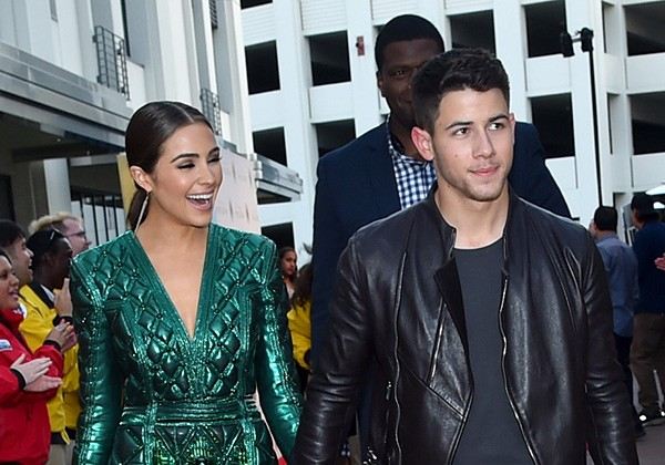 Nick Jonas e Olivia Culpo (Foto: Getty Images)