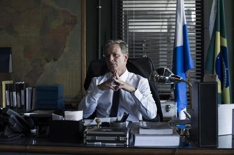 Marcello Novaes como o delegado Dias (Foto: Estevam Avellar/TV Globo)